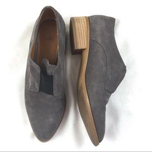14th And Union Womens Gray Ankle Boots